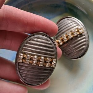 True vintage clipnon earrings